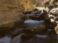 Ravines and waterfalls