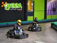Karting al coperto verde