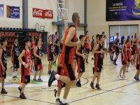 Entrenamiento baloncesto la Nucia