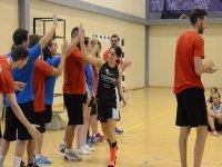 Jugadora baloncesto campus La Nucia