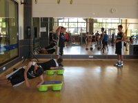 Entrenamiento fisico campus La Nucia