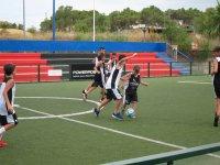 Futbol en el campus de Alicante