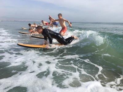 Curso de surf en Alicante. 6 h