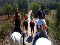 ruta a caballo en mallorca