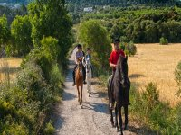 enjoying an equestrian day in mallorca