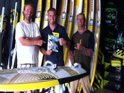 Line Up Fuerteventura Windsurf