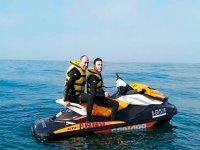 两人座水上摩托车路线Mar Menor