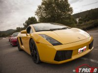 Lap in Lamborghini