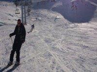 esquiando con el club