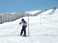 Esquiadora del club
