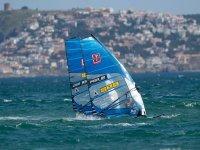 两次风帆冲浪帆