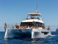 多体船在大西洋Afrikat 69