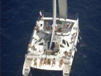 帕西托布兰科的私人双体船
