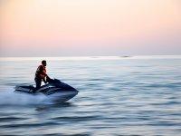 Acelerando en el mar