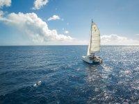 Navegando en catamaran