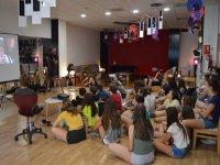 Alumnos campamento de artes en Salamanca