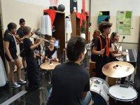 Clase de musica campamento Salamanca