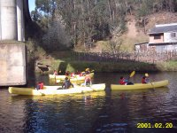 Introduzione in canoa