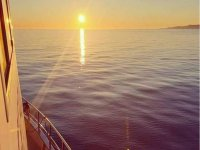 The best sunsets by boat