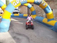 A children's Quads track