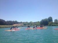 Estiramientos de Paddle Surf