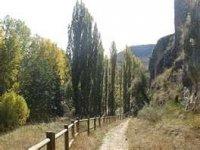 Hiking through the Hoces del Duratón Park