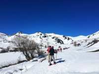 Snowshoes in the Picos de Europa