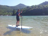 primeros pasos en el paddle surf