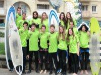 Campi di viaggi di surf Zarautz