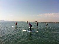 站起来桨trainnings