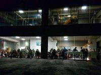 Parque infantil Illescas de noche