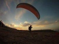 老鹰滑翔伞标志没有什么是不可能的滑翔伞