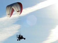 Volando con motor