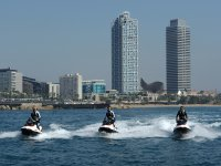 30 min jet skiing in Port Olimpic