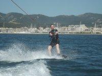 Haciendo wake en el Mediterraneo