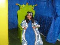 La princesa en el trono