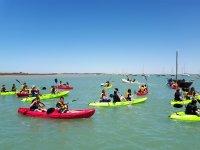 Excursion en kayak en la Costa de la Luz