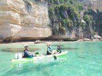 Kayak en familia en la Costa de la Luz