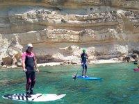 Paddle surf calas gaditanas