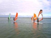 Sesion de windsurf Costa de la Luz