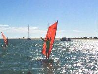 Windsurf aguas planas Costa de la Luz