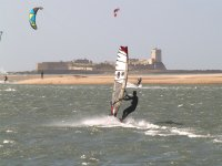 Windsurf Castillo Sancti Petri