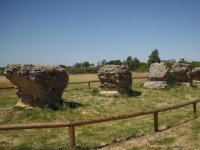 Remains of the Aznalcollar aqueduct