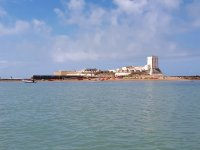 Vistas del Castillo de Sancti Petri