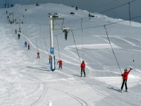 Ski lifts in Candanchu