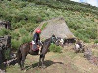 A cavallo attraverso le cabanas