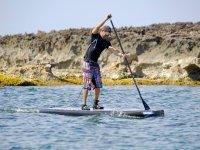 El paddle surf en mar