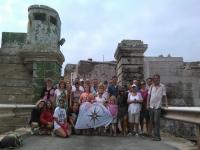 Excursionistas en Cadiz