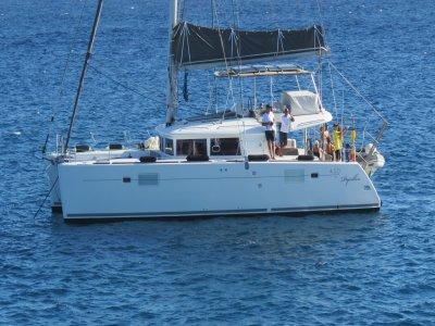 Blue ocean yacht charter Tenerife