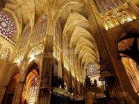 参观莱昂大教堂